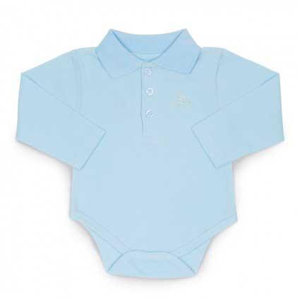 Dětské polo body modrá