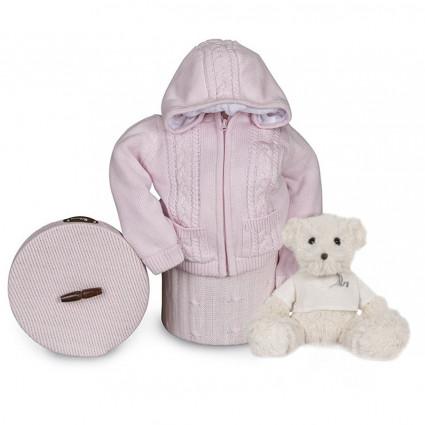 Výbavička pro miminko Happy Bundička - růžová