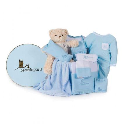 Dárková výbavička pro miminko - modrá