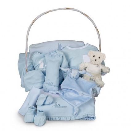 Dokonalý dárkový koš Serenity - modrý