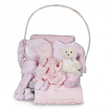 Dokonalý dárkový koš Serenity - růžový