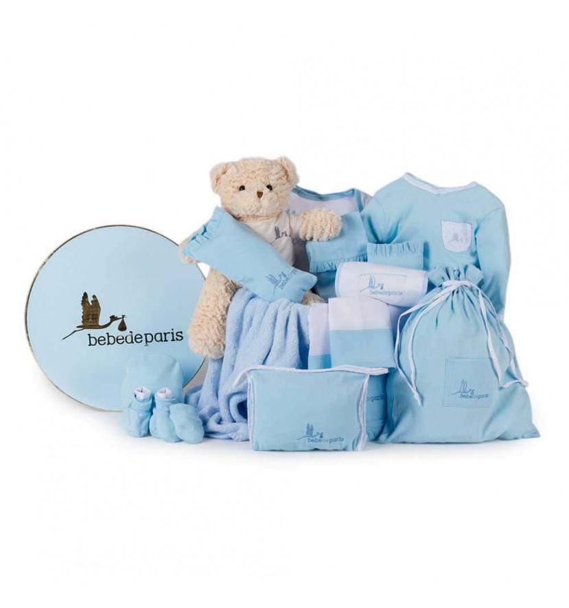 Dokonalá dárková výbavička pro miminko - modrá