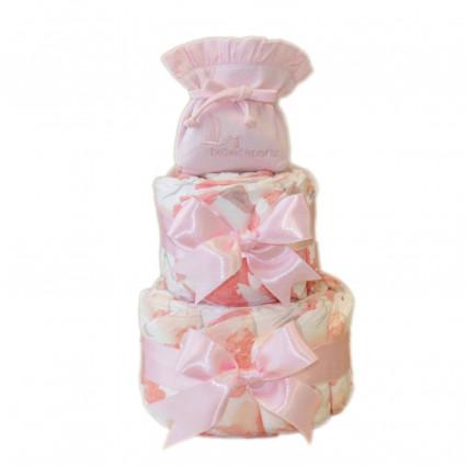 Plenkový dort s ranečkem - růžový