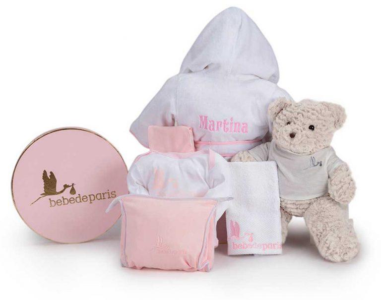 Výbavička pro miminko růžová varianta